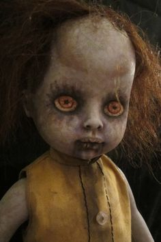 Zombie Doll Patty Walker - Gothic Horror Repainted Doll  $99.99