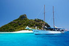 Travelling with South Sea Cruises in the beautiful FIji Islands