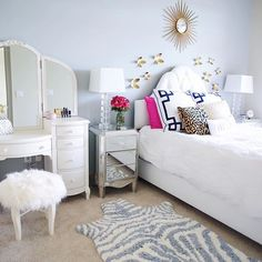 My bedroom reveal with @nordstrom is on www.southerncurlsandpearls.com this morning! Head th... @liketoknow.it www.liketk.it/1GMKa #liketkit
