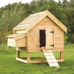 construction d 39 un poulailler avec des palettes de r cup ration pour le bien. Black Bedroom Furniture Sets. Home Design Ideas