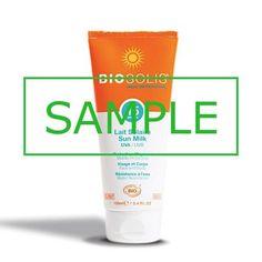 Sample - Biosolis Sun Milk SPF15  Sample - Biosolis Sun Milk SPF15  EUR 0.25  Meer informatie