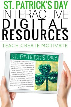 Engage your students with these interactive digital St. Patrick's Day activities!