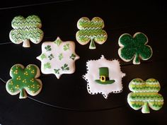 Lucky Charm Cookies #St. Patricks Day