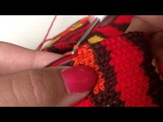 - Crocheting mochila bag - - YouTube Using 3 Colors