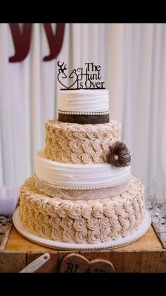 Wedding cake goals!