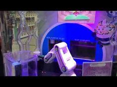Торговый автомат по продаже замороженного йогурта - YouTube