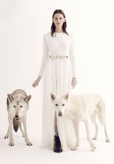 Amanda Murphy Stars in V Magazine's Winter Issue #winter #fashion trendhunter.com