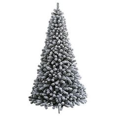 KING OF CHRISTMAS Foot Prince Flock Artificial Christmas Tree With 250 UL Warm White LED Lights, Flocked Snow ** To view further for this item, visit the image link. (This is an affiliate link) Flocked Artificial Christmas Trees, Flocked Christmas Trees, Artificial Tree, Christmas Tree Decorations, Holiday Decor, Christmas Crafts, Merry Christmas, Christmas 2016, Country Christmas