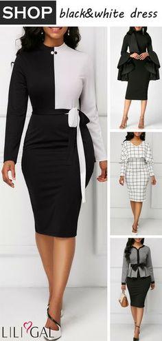 3a0c5394d6f13 2018 Dress Fashion  classy summer into fall dresses