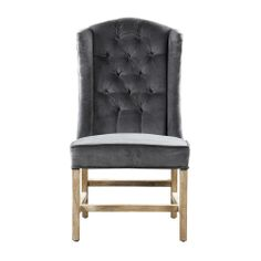 TUFT HOST SLATE VELVET CHAIR - HD Buttercup Online – No Ordinary Furniture Store – Los Angeles & San Francisco
