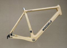 Wooden Road Bike Frame!