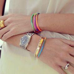 Fluo bracelets #chiaraferragni #theblondesalad - @chiaraferragni- #webstagram