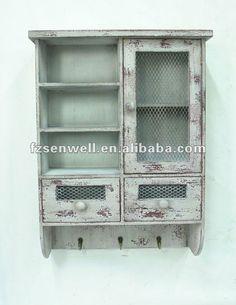 shabby chic cozinha parede do gabinete para tempero-Armários de cozinha-ID do produto:636632125-portuguese.alibaba.com