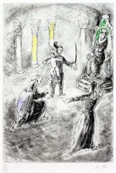 Marc Chagall, The Judgement of Solomon | by Haggerty Museum