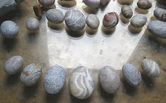 Carols Crafts: Polymer clay pebbles