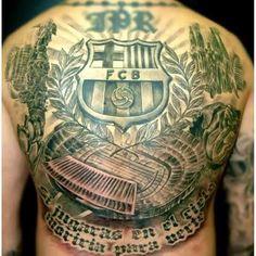 Picture: Barça tattoo #fcblive
