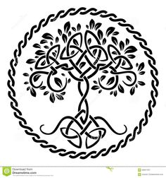 Tree Of Life Stock Vector - Image: 56847451