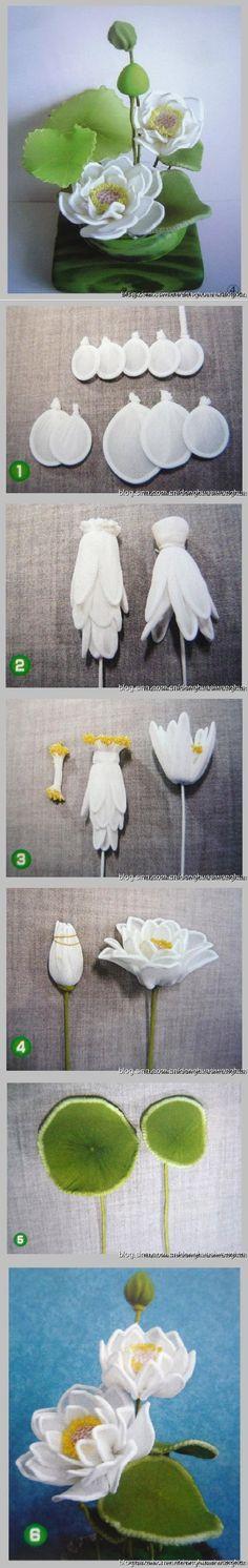 DIY Nylon Lotus Flower http://indulgy.com/post/RtVBNvQvv1/diy-nylon-lotus-flower-diy-nylon-lotus-flower