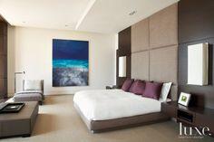Modern Brown Master Bedroom