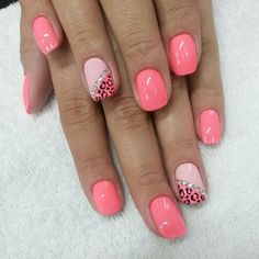 Nagelkunst - New Ideas Colorful Nail Designs, Toe Nail Designs, Acrylic Nail Designs, Diy Nails, Cute Nails, Summer Shellac Nails, Nagellack Trends, Nails For Kids, Leopard Nails