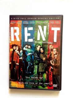 Seasons of Love is one of my favorite songs ever. Ever.  Rent DVD 2 Disc Set Special Edition Full Screen Musical Region 1