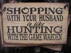 """Maybe accompanied by a sign pointing to your """"husband"""" chair, stating: Deposit Him Here."""