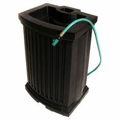 An eco-friendly solution for your landscaping endeavors, this essential rain catcher collects water from your gutters for use in garden and lawn care.
