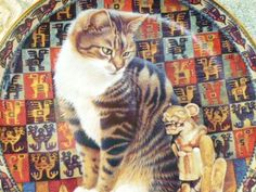 レスリー・アン・アイボリー★猫の皿 限定プレート④ 切手可_画像1
