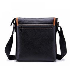 9ec70b215af5 High Capacity Genuine Leather Men Handbag