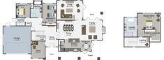 Glentui 3 bedroom house plans Landmark Homes builders NZ