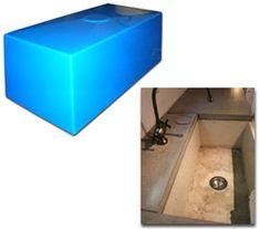 Mold for concrete farmhouse kitchen sink