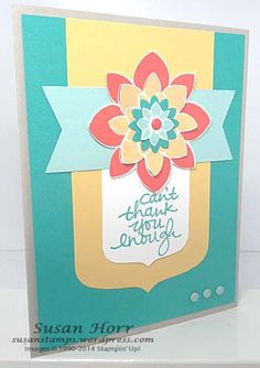 Crazy About You, Lovely Amazing You, Stampin Up, Party Pennants, susanstamps.wordpress.com