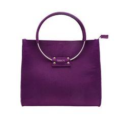 Violet handbag. www.bagcyl.com