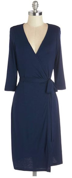 #blue jersey wrap around dress http://rstyle.me/n/icfydr9te