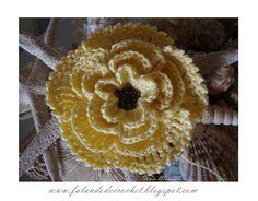 FLOWER crochet MISSANGUINHAS