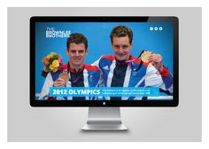 Website design, build and brand identity for triathletes The Brownlee Brothers.