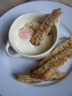 oeuf cocotte, truffe noire, tuber melanosporum, egg, food, cuisine