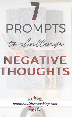 Use these prompts to affirm positive thoughts and quit negative thinking! Positive affirmations work, but these will make you question how you talk to yourself and how to love yourself more! #positivethinking #affirmations #positiveaffirmations #selfgrowth #loveyourself #negativethinking