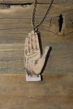 Palmistry palm reading fortune teller by Little Rat´s Boutique. Diy Jewellery, Jewelry, Palm Reading, Fortune Teller, Palmistry, Handmade Necklaces, Rat, Dog Tag Necklace, Buy And Sell