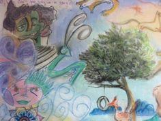 IAIA Art Therapy Intern Group Project Close-up. www.iaia.edu