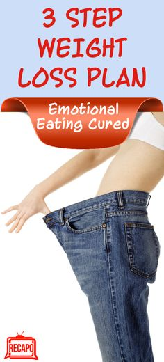 3 Step Weight Loss Diet Plan that puts an end to Emotional Eating once and for all!