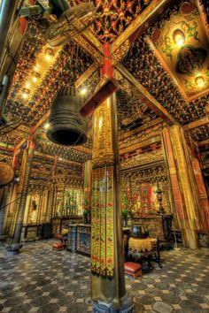 Old Longshan Temple, in Taipei, Taiwan.