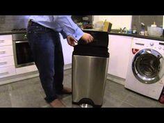 The best kitchen bin money can buy - Simplehuman rectangular step can