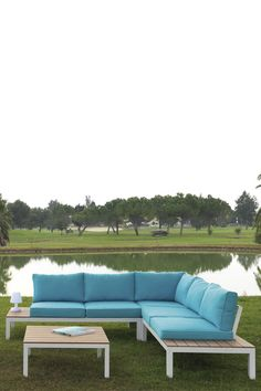 Outdoor Sectional, Sectional Sofa, Outdoor Furniture, Outdoor Decor, Patio, Home Decor, Outdoor Sofa, Outer Space, Outside Furniture