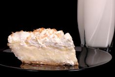Happy National Coconut Cream Pie Day! This pie is sooo light & creamy, topped off with toasted coconut! I can smell it already...