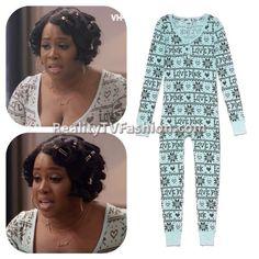 #RemyMa's Thermal Onesie Pajamas #LHHNY
