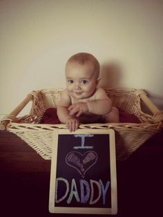 Father's day photo idea