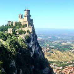 San Marino, another epic view - Instagram by @Suzanne, with a Z Courtney @Suzanne @TheTravelBunny