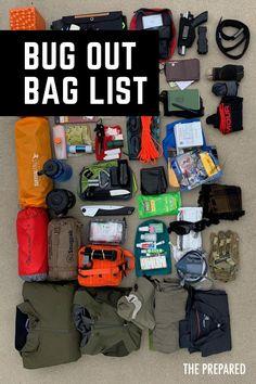 Survival Shelter, Wilderness Survival, Camping Survival, Outdoor Survival, Survival Prepping, Emergency Preparedness, Survival Skills, Emergency Go Bag, Survival Gear List