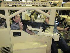 General Dynamics Flyer, Gun Mounts